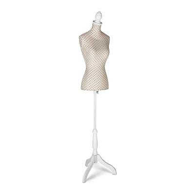 Dressmakers Mannequin 36/38 Hard Styrofoam Tailor Torso Adjustable Height