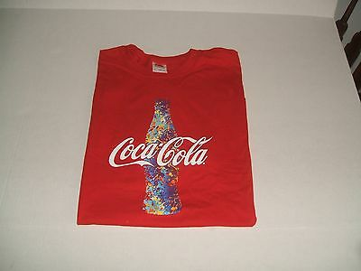 New Red Coca-Cola T-Shirt Large