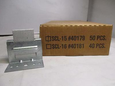 (Lot of 50) Stamped Brackets SCL-15 40179