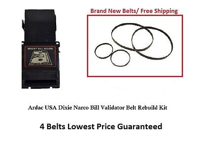 Ardac Bill Validator Belt Rebuilt Kit