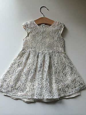 *Baby Clothes/ Baby Girls Party Dress 12/18 Months*