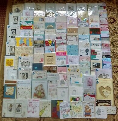 500+ Wholesale Job Lot Mixed Greetings Cards New Job New Baby Tatty Teddy Joblot