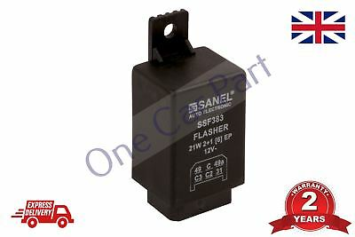 12V 6 Pin Flasher Indicator Relay Unit Massey Ferguson  New Holland Tractor