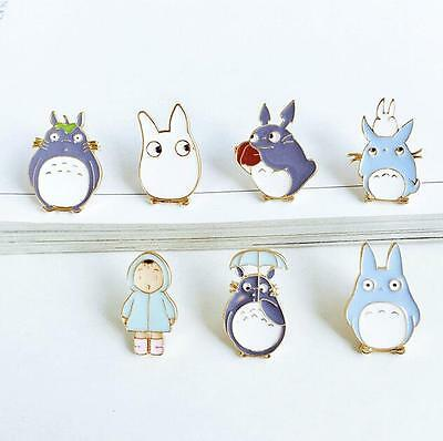 Mix 10 pcs Japanese anime  Fashion Jewelry Accessories Badge/Brooch Enamel Pin