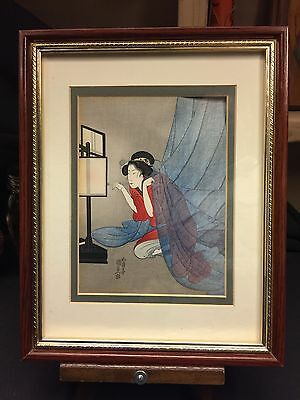 Antique Early 19thC Utagawa Kunisada Pre-Toyokuni III Japanese Woodblock Print