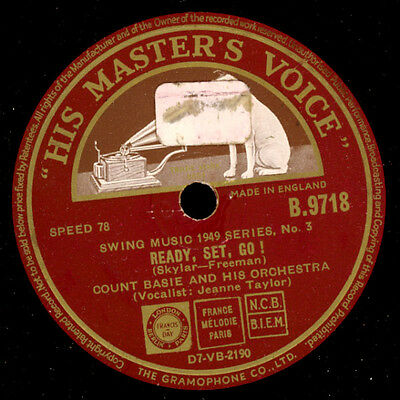 COUNT BASIE & HIS ORCH.  Ready, set, go / Seventh Avenue Express  78rpm  X911