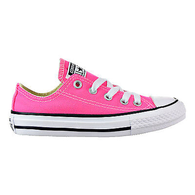 c85b8a48700b CONVERSE CHUCK TAYLOR All Star OX Big Kid s Shoes Green Pale Coral ...