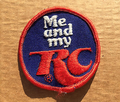 Vintage RC Cola Sew On Patch, Embroidered, Extremely Rare