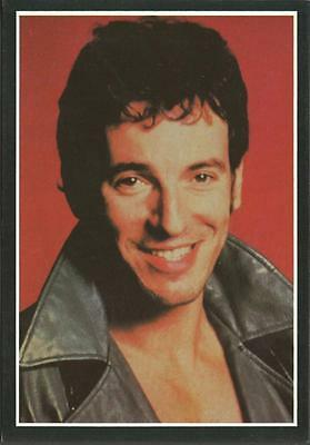 Postcard BRUCE SPRINGSTEEN by Superior No. PC5