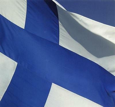Postcard Finland FLAG Suomi Collection by Linnapaperi