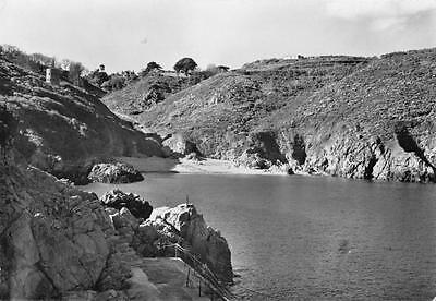 Vintage REAL PHOTO Postcard SAINTS BAY GUERNSEY Channel Islands