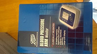 CLINICALLY VALID BOOTS BLOOD PRESSURE ARM MONITOR(b)