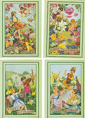 4 Postcards  Fairies Of The Countryside  Published By Salmon