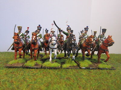 28mm Warlord Games French Chasseur a Cheval 12 painted figures