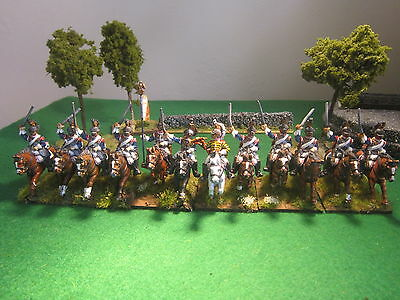 28mm Front Rank French Cuirassiers 12 painted figures