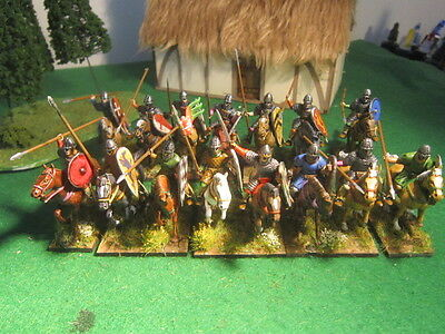 Conquest Games Norman Knights - 15 28mm figures painted and based