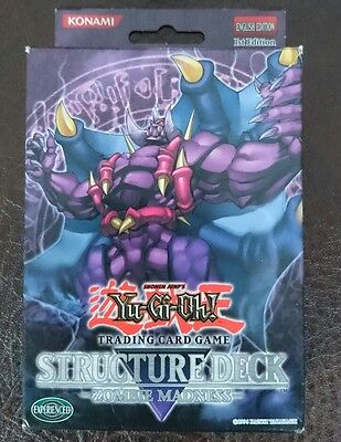 yugioh zombie madness structure deck