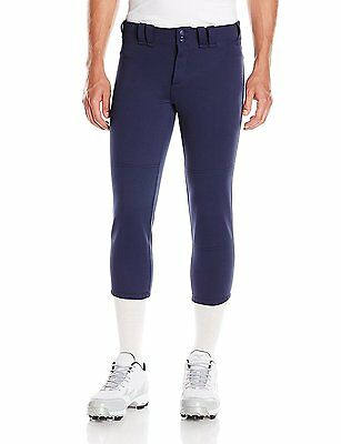 Mizuno Select Belted Low Rise Fastpitch Pant, Large, Navy
