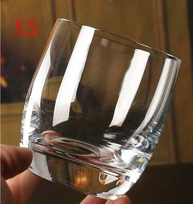 New 5X Capacity 280ML Height 86.5MM Thick Bottom Cocktail Wine Glass/Glassware %