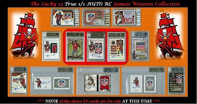 JAMEIS WINSTON True 1/1 Auto RC Collection - MOST ACCOMPLISHED 23 YR OLD QB EVER