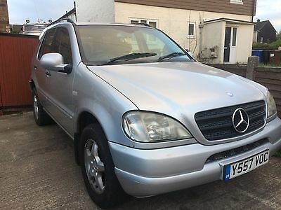 Mercedes Ml270 Cdi Automatic 1 Owner F/s/h ! Long Mot Ready To Drive Away !!