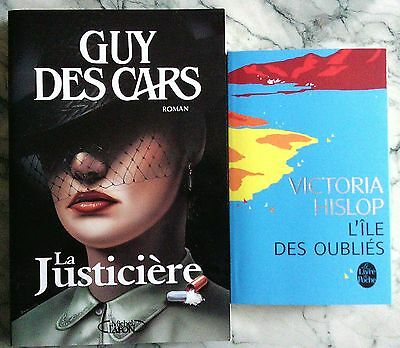 Lot De 2 Livres Roman Fiction
