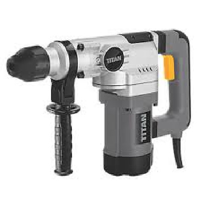 Titan 1010W TTB698DRH 4kg SDS Plus Demolition Hammer Breaker 230-240V REFURB