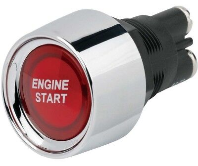 Car Push Button Starter Switch Red LED Illuminated Engine Start 50amp 12v GE338R