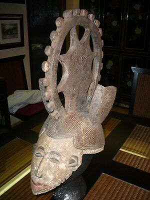 African Mask primitive art IGBO  tribe Africa Afrique Afrika masque