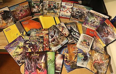 Various Pokemon A4 Folders / Binders Official XY (Ultra Pro)