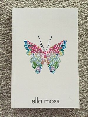 NWOT Ella Moss Notebook Journal Diary Butterfly Brand Name