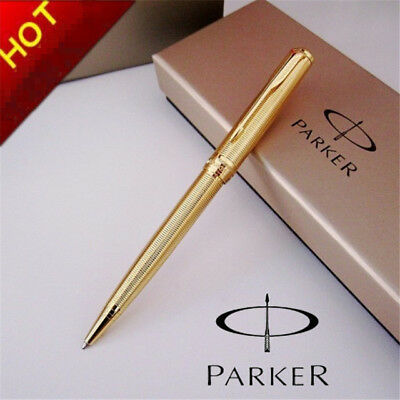 Parker Sonnet Gold / Silver Ballpoint Pen With Box