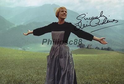 Julie Andrews Genuine Autographed 12x8inch photograph
