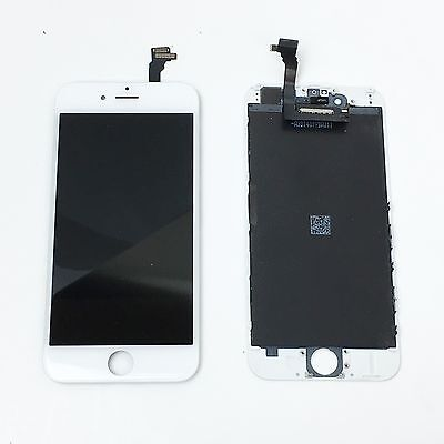 OEM Original White iPhone 6 Touch Digitizer LCD Screen Assembly Replacement USA