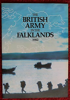 The British Army In The Falklands 1982 - Booklet - Falklands War Published 1982