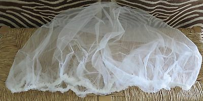 Baby Insect Net Elastic Edge For Bassinet Carriage Or Strollers Nwot