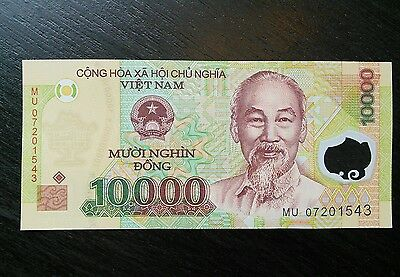 $10,000 Vietnamese Dong VND Vietnam UNC Uncirculated Banknote Currency