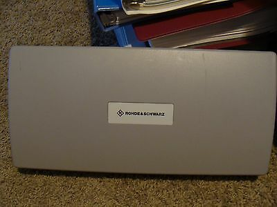 """Rohde & Schwarz Plastic Protective Front Cover 15 x 7 x 2 1/2"""""""