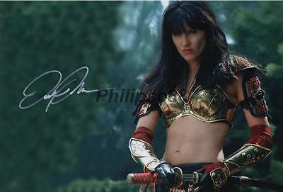 "Lucy Lawless ""Xena"" Genuine Autographed 12x8"" photograph"