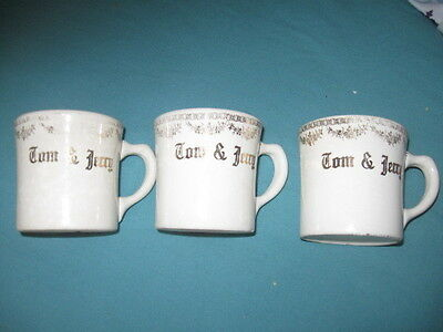 Very Rare Tom and Jerry Children's Mugs