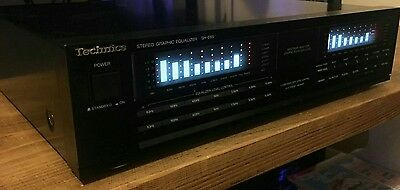 Technics SH-E65 Graphic Equalizer - stereo spectrum analyser HiFi