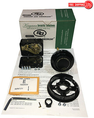 S&G - Sargent and Greenleaf 6730-102 Group 2 - Spy Proof Dial & Lock Kit - NIB