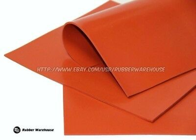 "Silicone Rubber Sheet High Temp 1/32"" Thick x 36"" wide x 36"" long FREE SHIPPING"