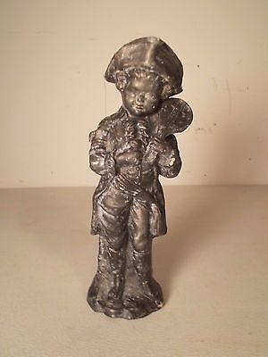 Antique Young Boy Finial  Figurine Statute not Round Oak Stove