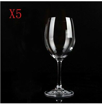 New 5X Capacity 615ML  Height  225MM  Transparent  Red Wine Glass/Glassware %