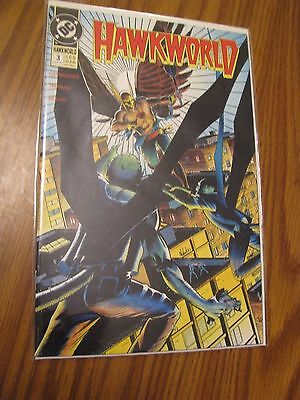 Hawkworld #3 - August 1990 - DC Comics Bagged and Boarded - C127