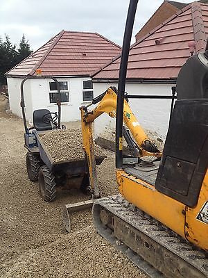 Mini Digger Hire - Dumper And Driver - Hi Tip Dumper And Driver - 1 Ton - 1.5ton