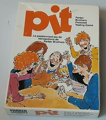 Vintage Pit Card Game By Parker Brothers *100% Complete*