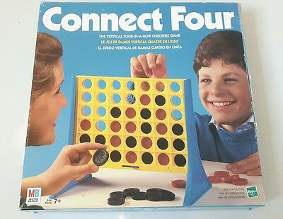 Vintage Connect Four Board Game By Milton Bradley *100 Complete*