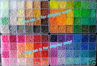 2.6mm MINI Fuse beads 98 Colours (500/1000/2000/5000pcs)